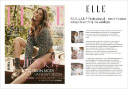 okładka Elle artykuł Etancelle