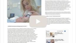 dr Nalewczyńska przeprowadza zabieg laserowy P.L.E.A.S.E.®