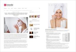 Artykuł dot. maski Solve na łamach Trendy Kosmetyczne